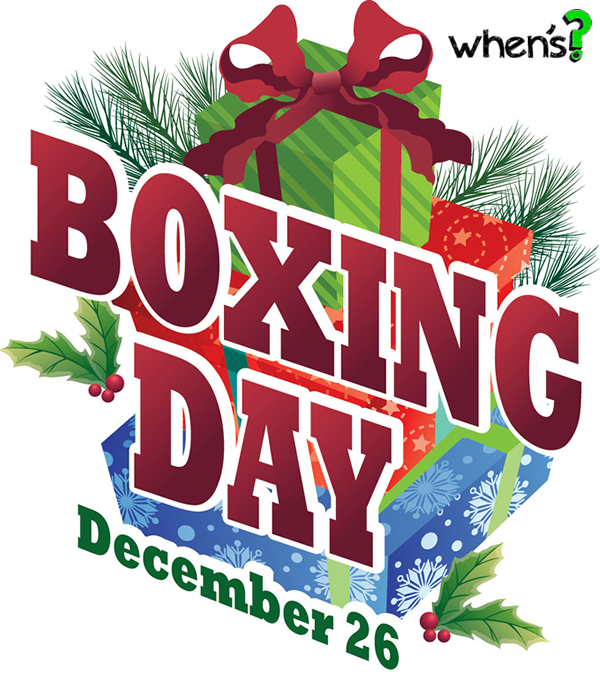 whens boxing day in 2016